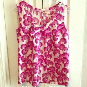 Kate Spade Florence Broadhurst floral silk top 2